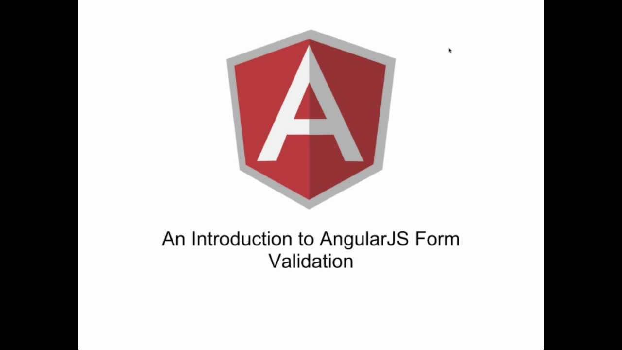 AngularJS Forms Validation