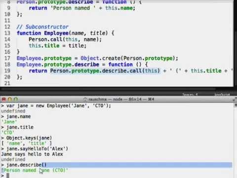 Four Layers of JavaScript OOP