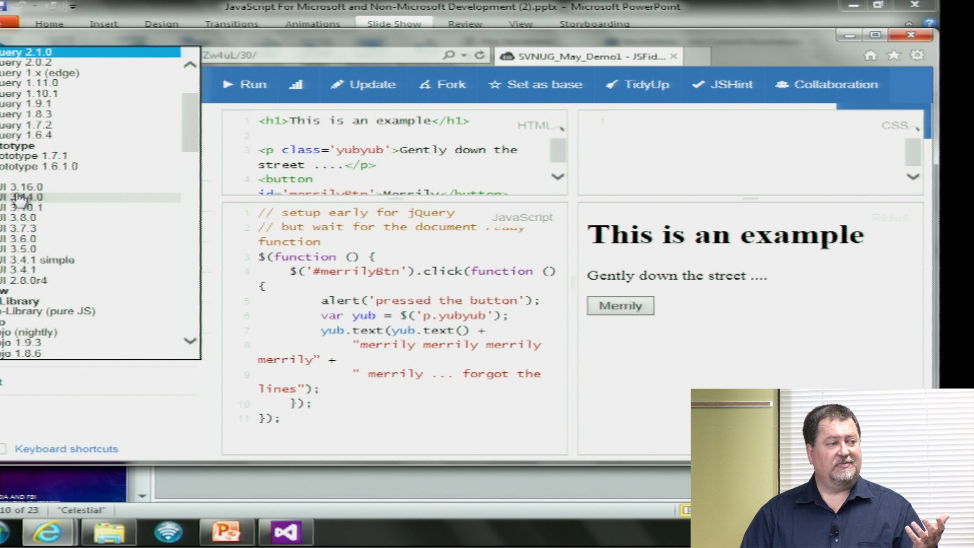 JavaScript for Microsoft Developers