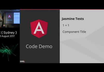 Testing Angular: Techniques & Practices